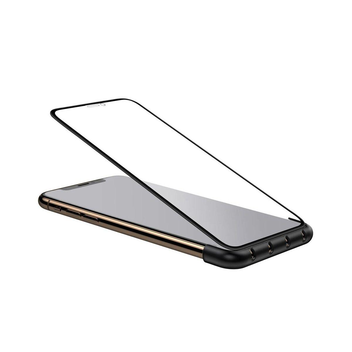 """Baseus Fixing Magic Tool kábeltartó, kijelző felhelyezéshez vezető, iPhone XS Max 6.5"""", fekete (ACAPIPH65-A01)"""