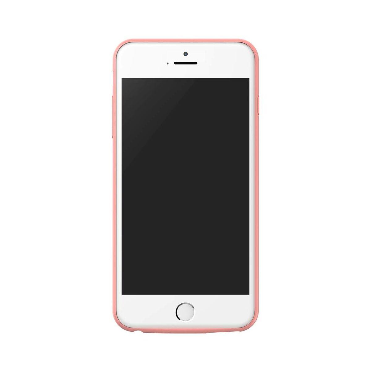 Baseus Power Bank tok, Plaid Backpack 7300 mAh iPhone 6/6s Plus, rózsaszín (ACAPIPH6SP-LBJ04)