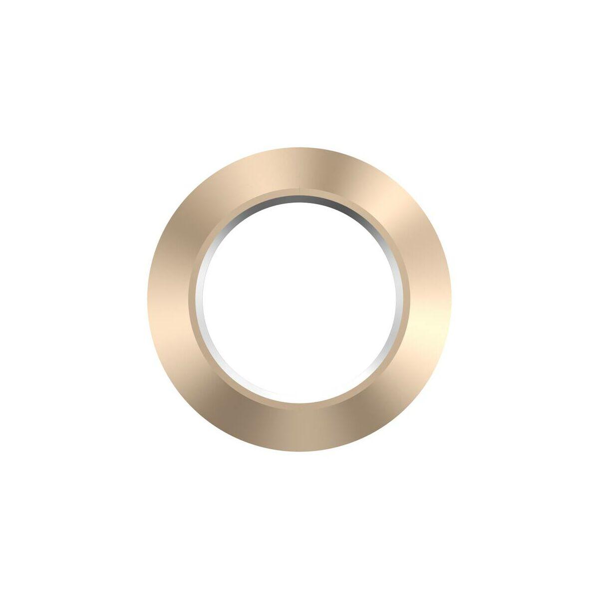 Baseus iPhone 7 kamera gyűrű, fém, arany (ACAPIPH7-RI0V)
