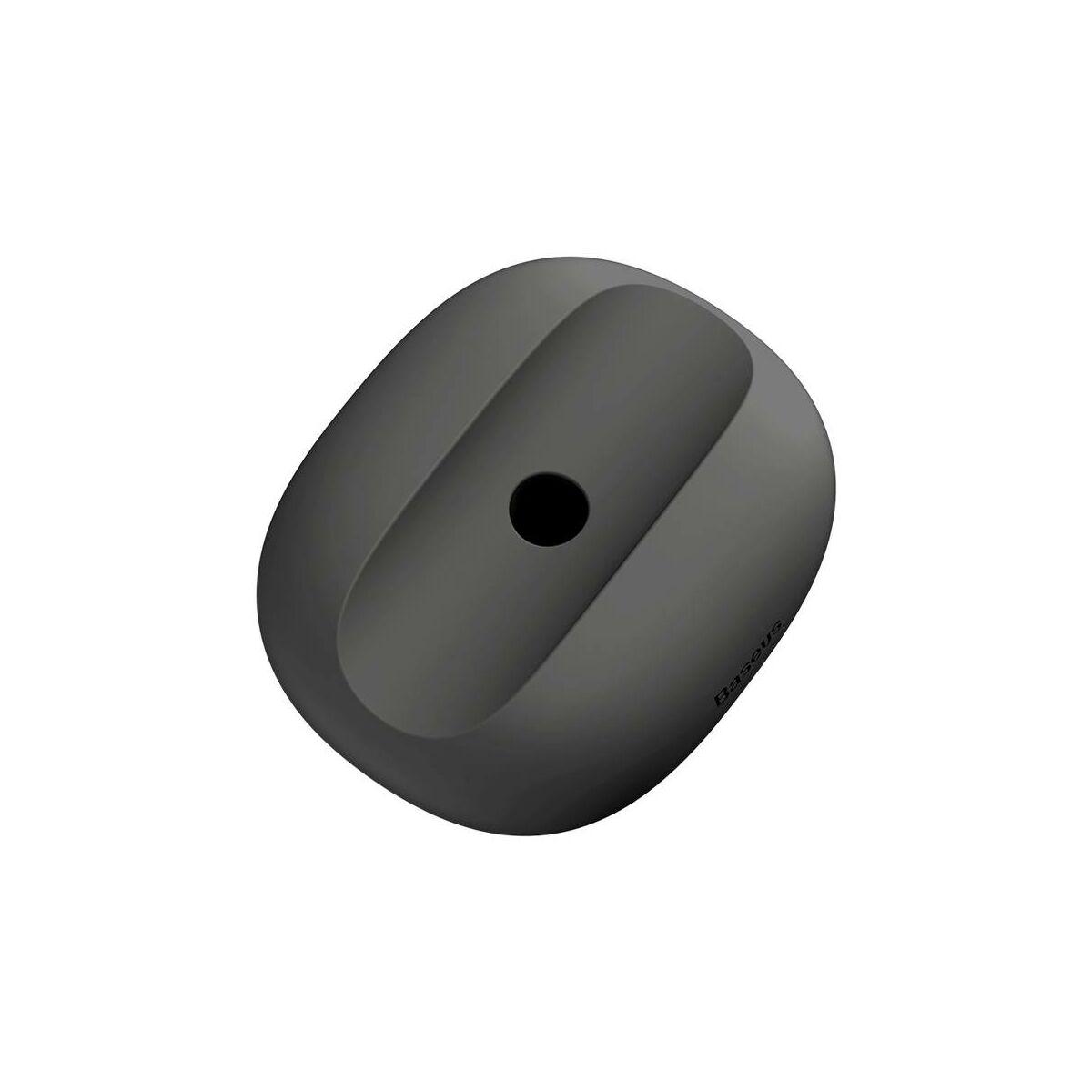Baseus Tablet kiegészítő, AP Pencil szilikon tartó, fekete (ACBZ-AP01)