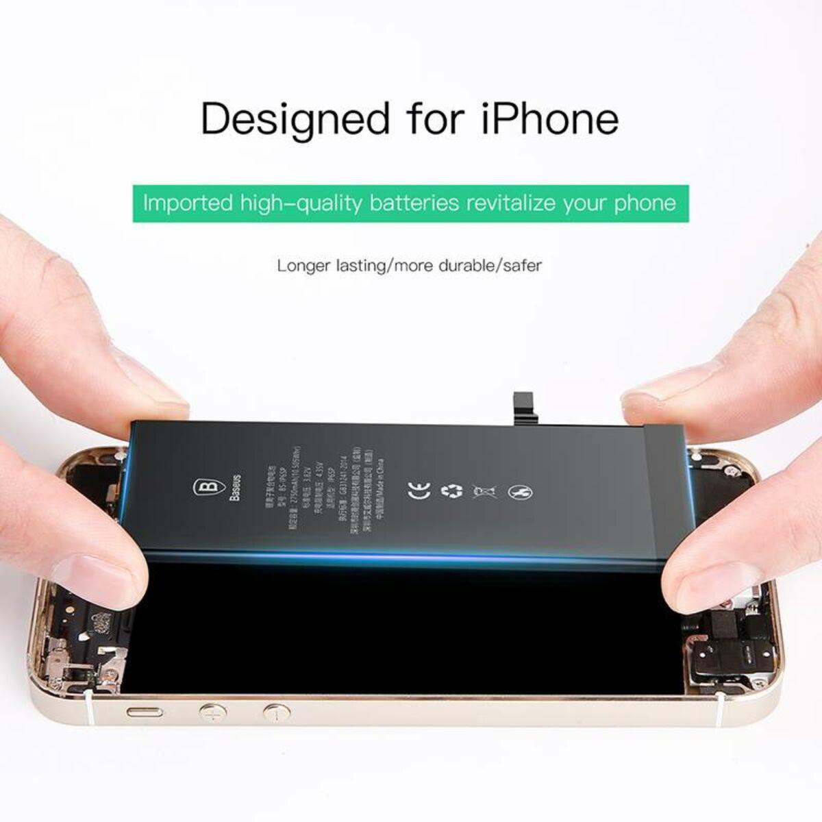 Baseus eredeti kapacitású akkumulátor iPhone 6 Plus-hoz, 2915 mAh (ACCB-AIP6P)
