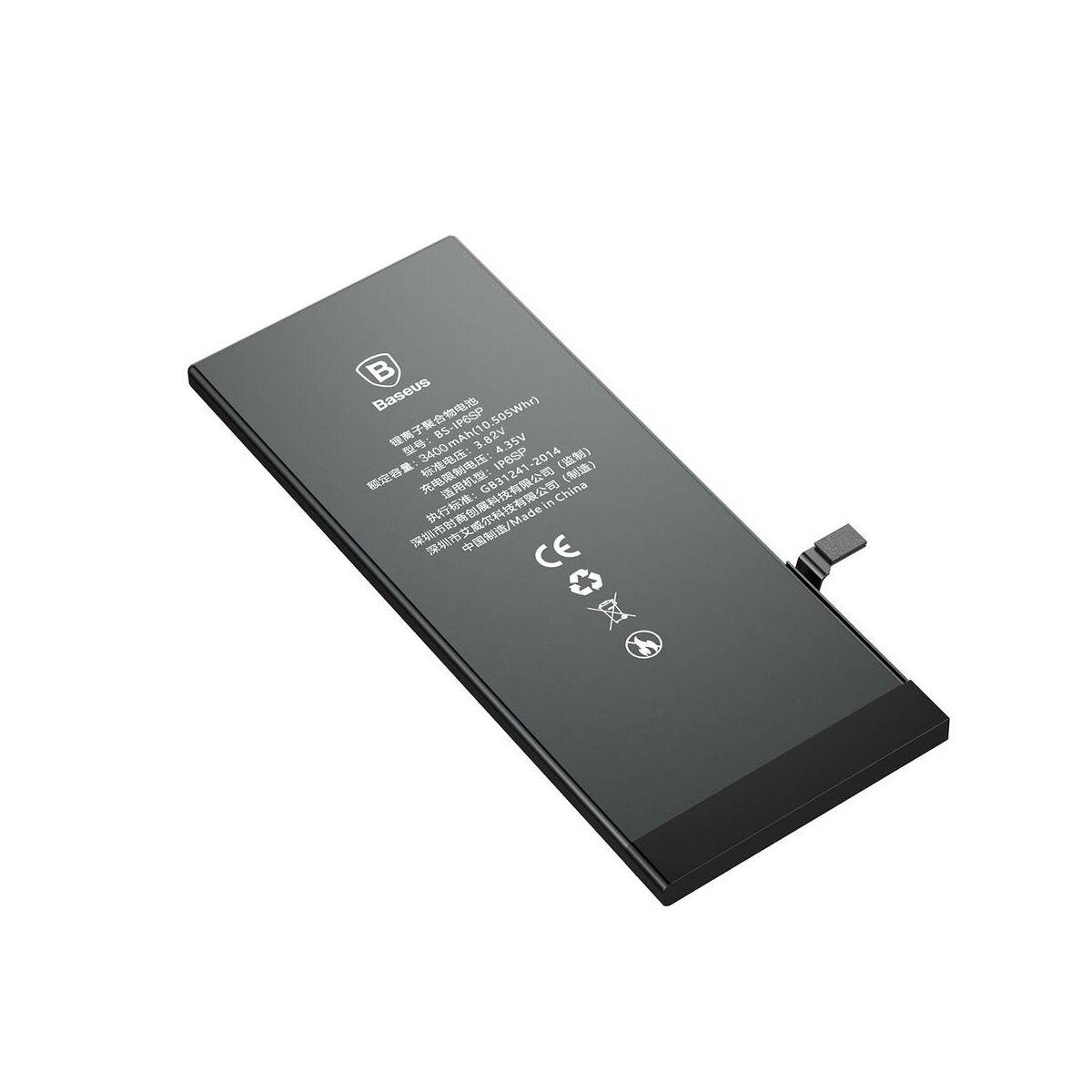 Baseus nagy teljesítményű akkumulátor iPhone 6s Plus-hoz, 3400 mAh (ACCB-BIP6SP)
