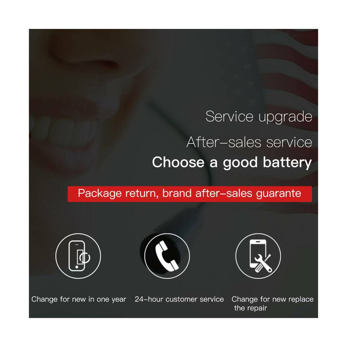 Baseus eredeti kapacitású akkumulátor iPhone 8-hoz 2200 mAh (ACCB-BIP8)