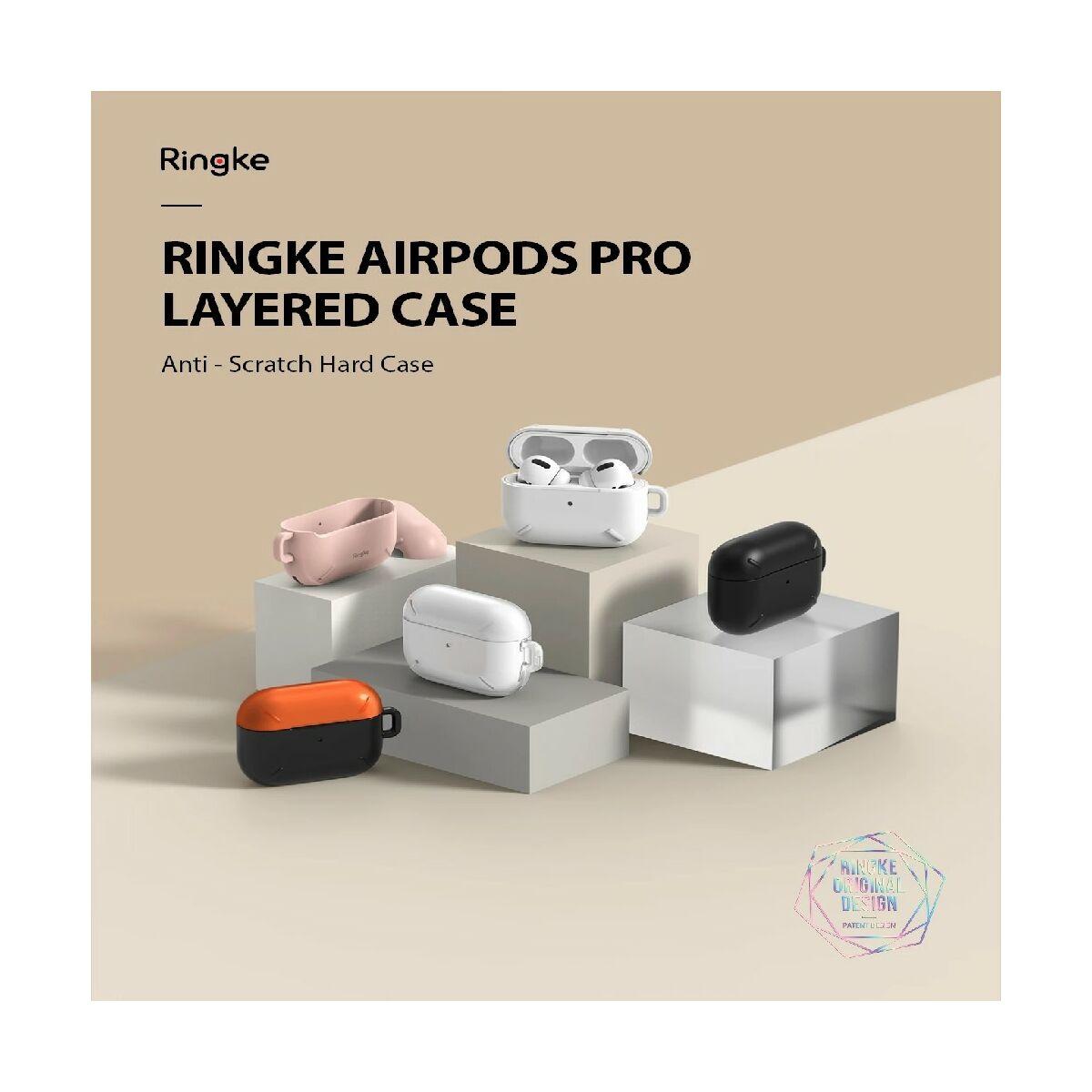 Ringke AirPods Pro Layered tok, Átlátszó matt