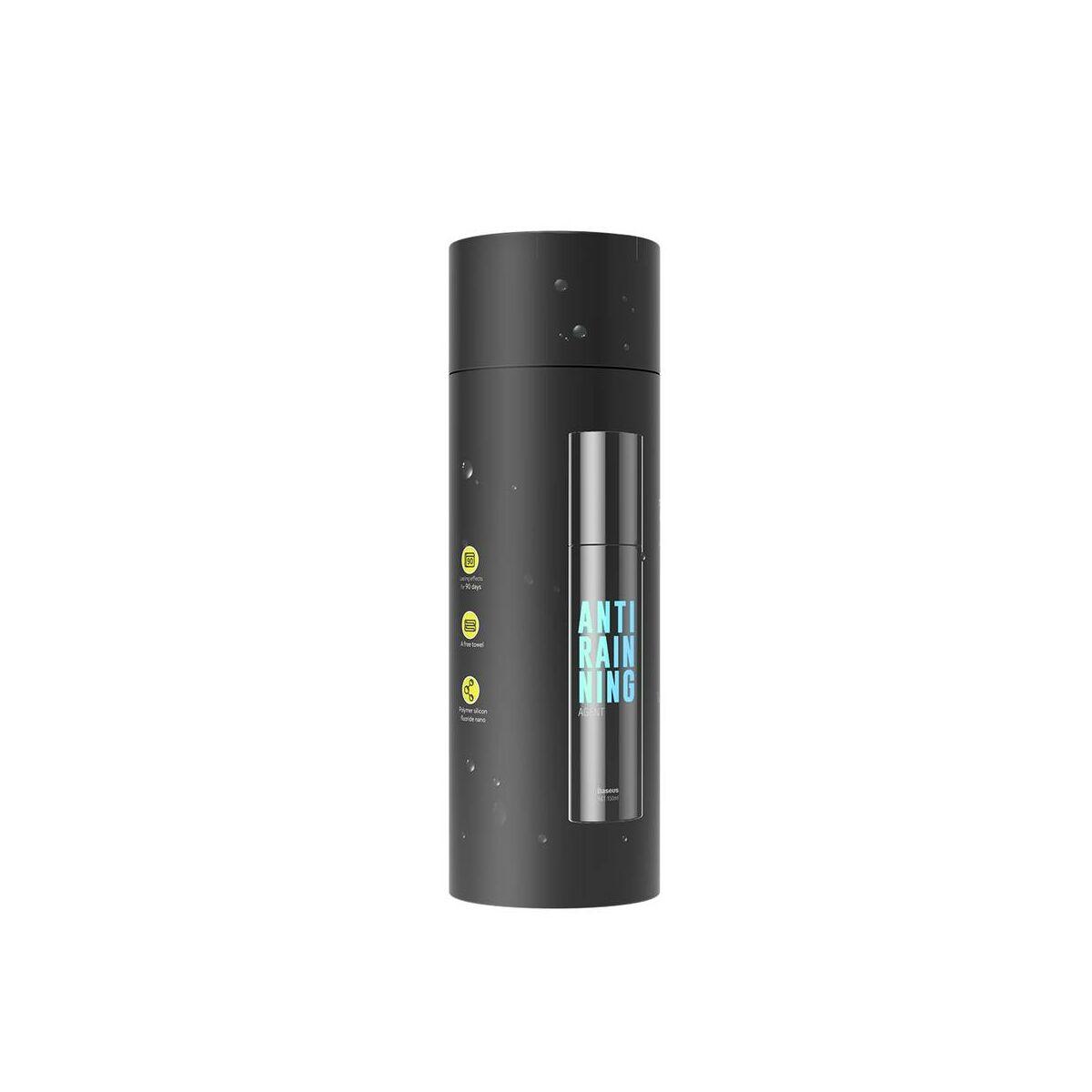 Baseus autós kiegészítő, vízlepergető spray, fekete (ACFYJ-01)