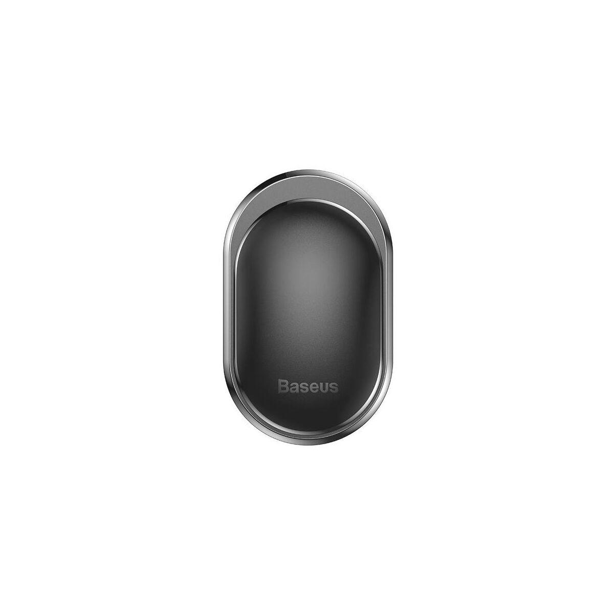 Baseus autós kiegészítő, Small Shell, ragasztható fogas, fekete (ACGGBK-01)