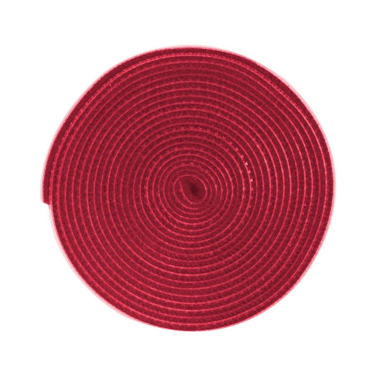 Baseus kiegészítő Rainbow Circle tépőzáras vágható kötegelő csík, 3m, piros (ACMGT-F09)