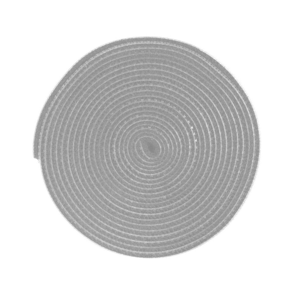 Baseus kiegészítő Rainbow Circle tépőzáras vágható kötegelő csík, 3m, szürke (ACMGT-F0G)