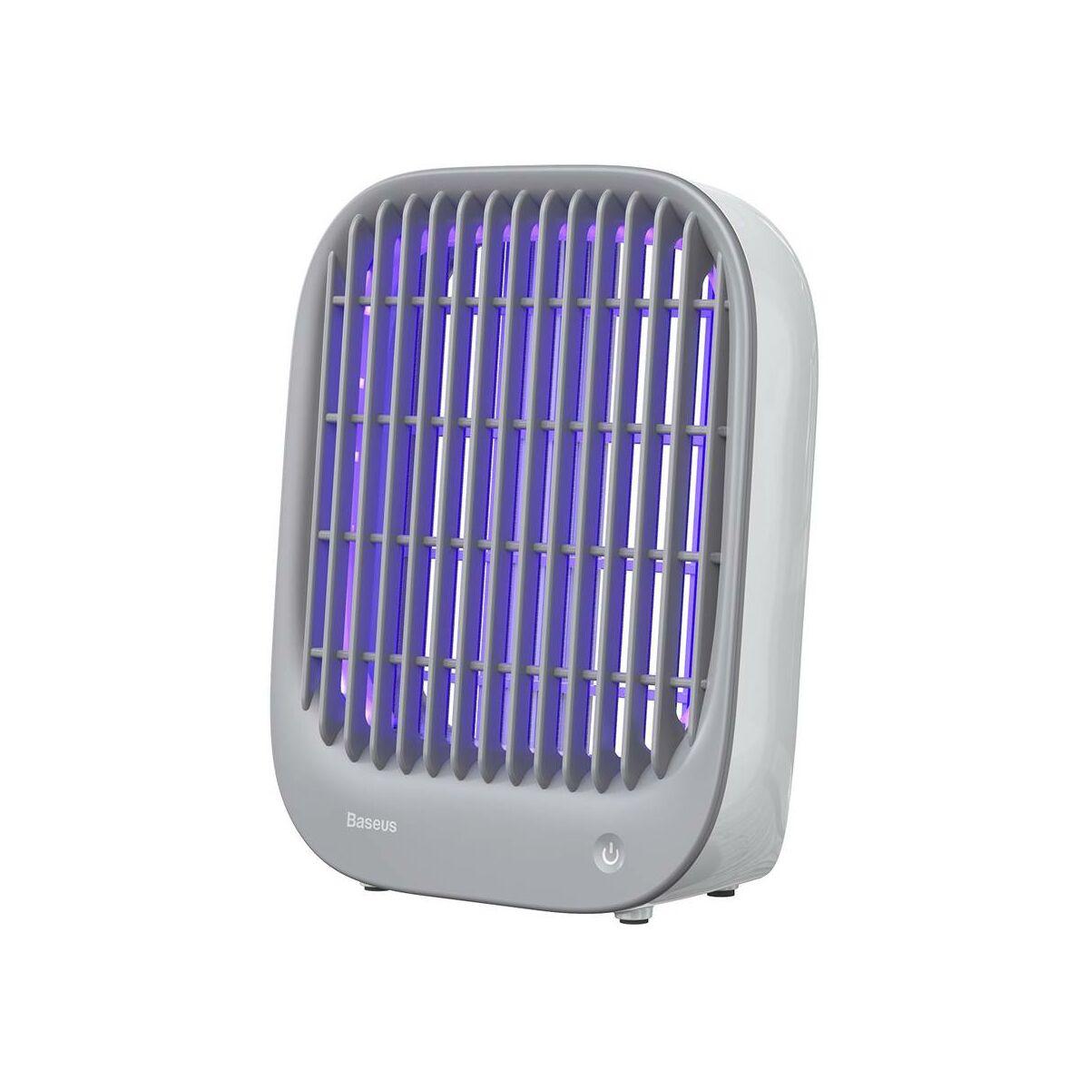 Baseus otthon, Baijing asztali szúnyog lámpa, rovarölő elektromos feszültség 1900V, 5V, 3.5W, fehér (ACMWD-BJ02)