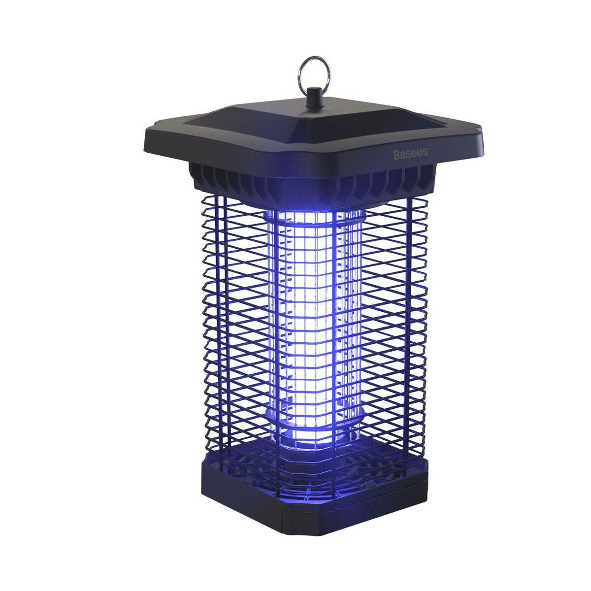 Baseus otthon, Pavilion Courtyard szúnyogirtó, UV fény 395nm, 18W, fekete (ACMWD-TB01)