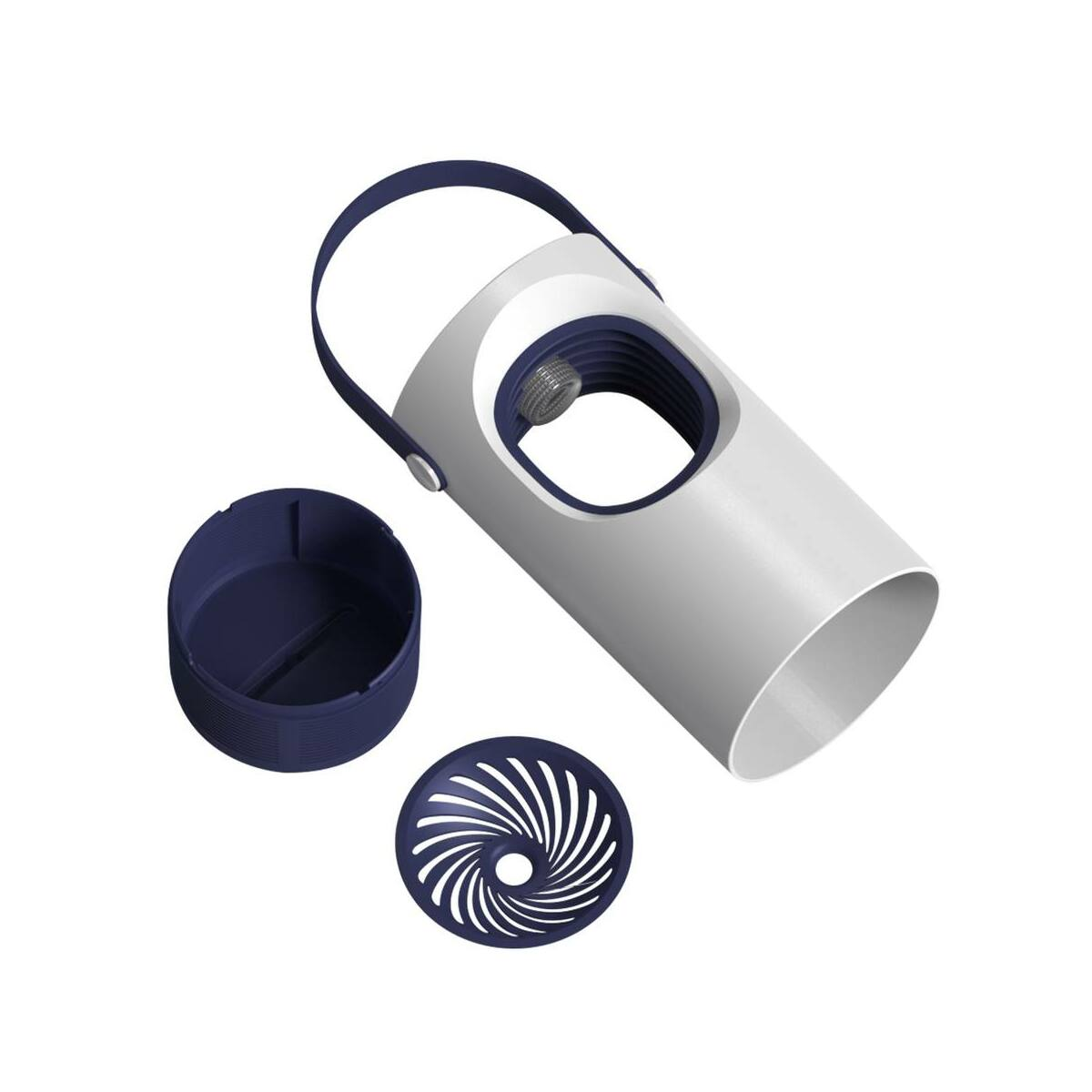 Baseus otthon, szúnyogirtó lámpa lila Vortex USB, fehér (ACMWD-ZX02)