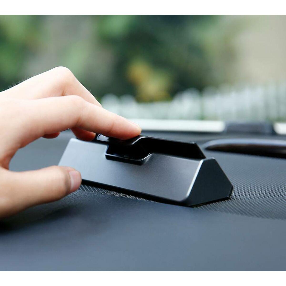 Baseus autós kiegészítő, Hermit Temporary telefonszám kijelző műszerfalra parkoláshoz, sötétszürke (ACNUM-A0G)
