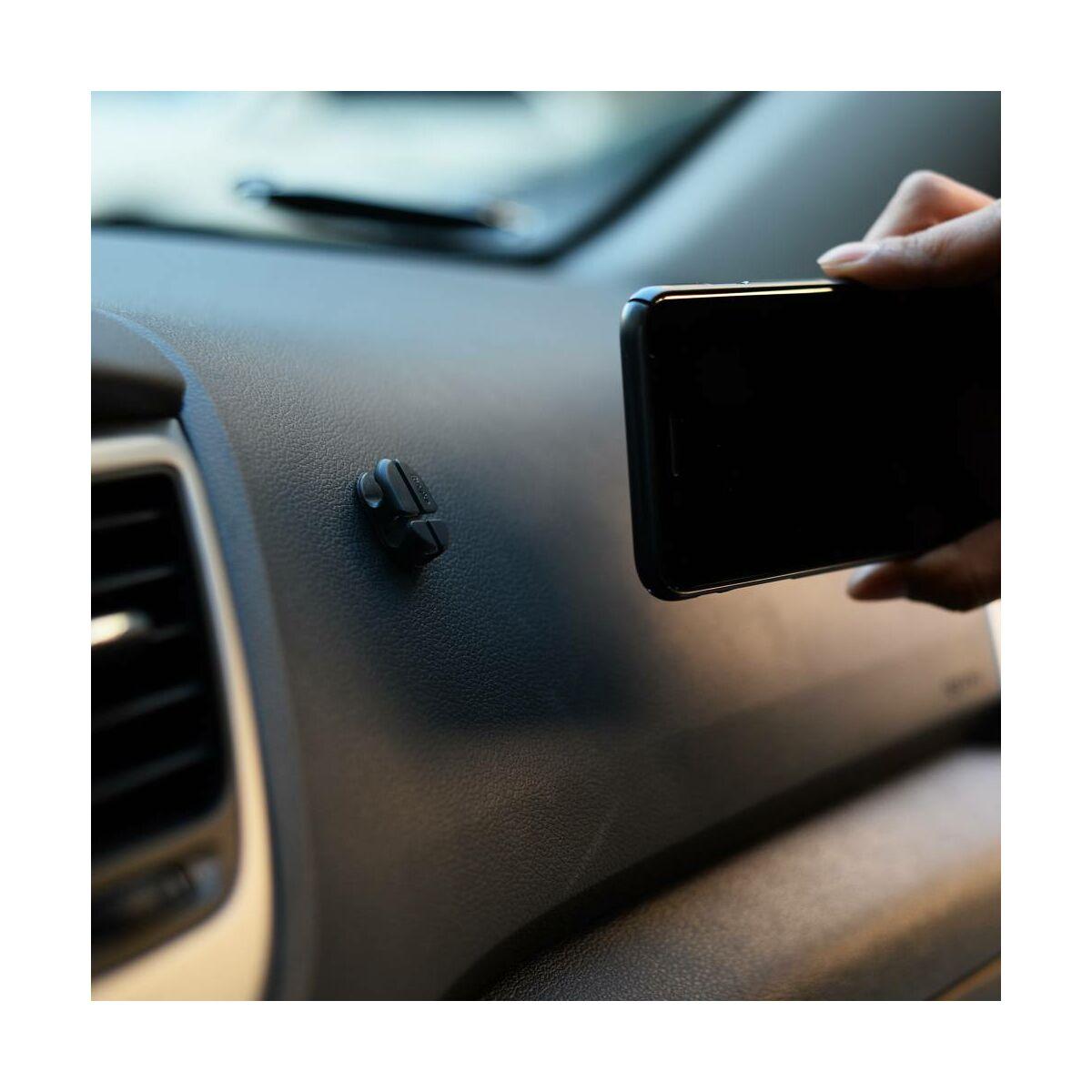 Ringke, gyűrűs tartó telefon hátlapra, fekete