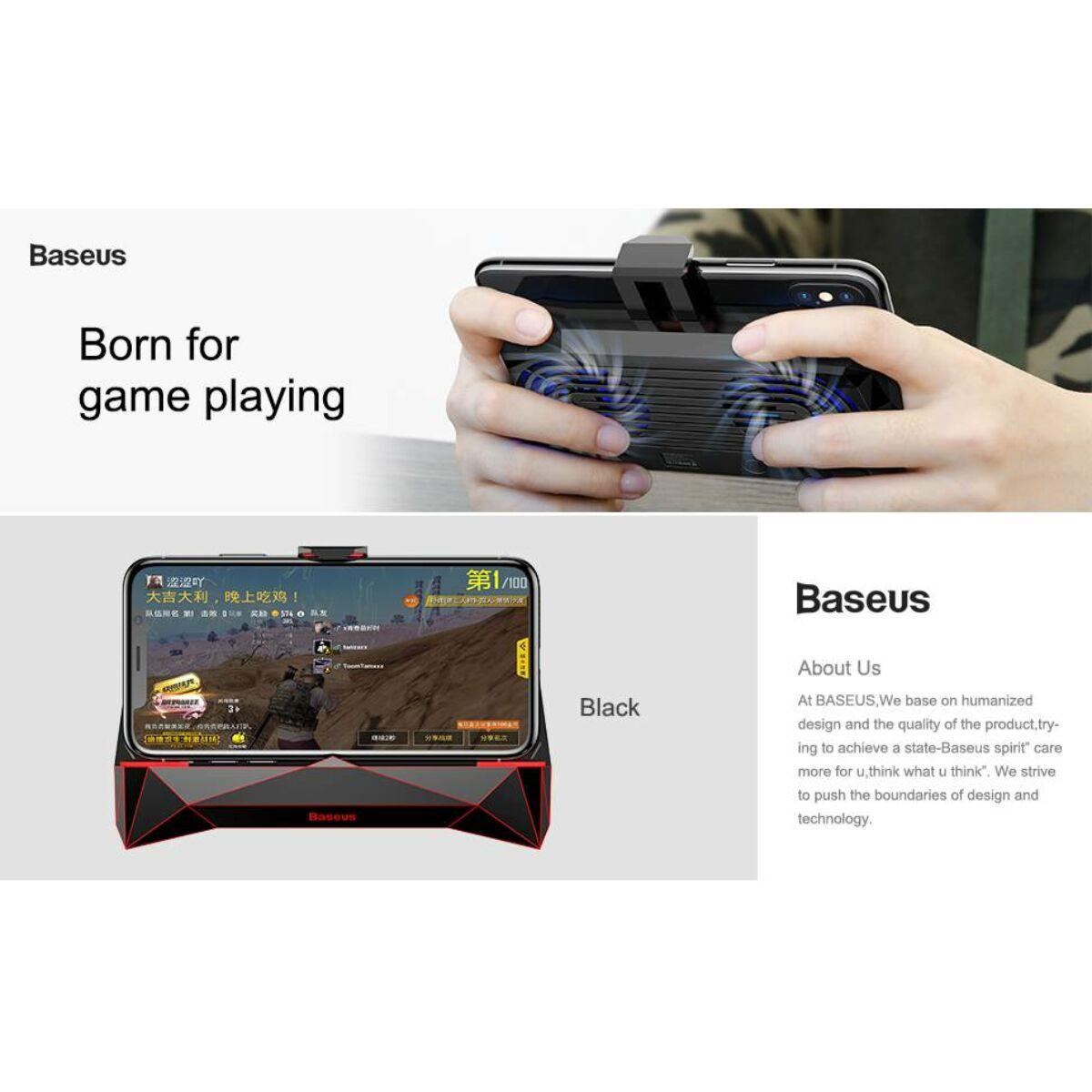 Baseus játék eszköz Magic-Monster hőelvezetős telefontartó, fekete (ACSR-MS01)