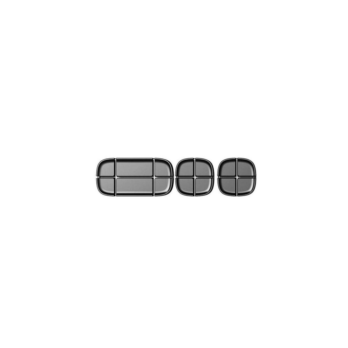 Baseus Cross Peas kábelrendező, fekete (ACTDJ-01)