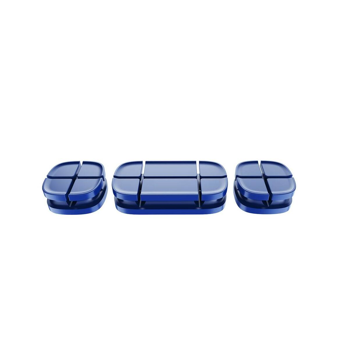 Baseus Cross Peas kábelrendező, kék (ACTDJ-03)