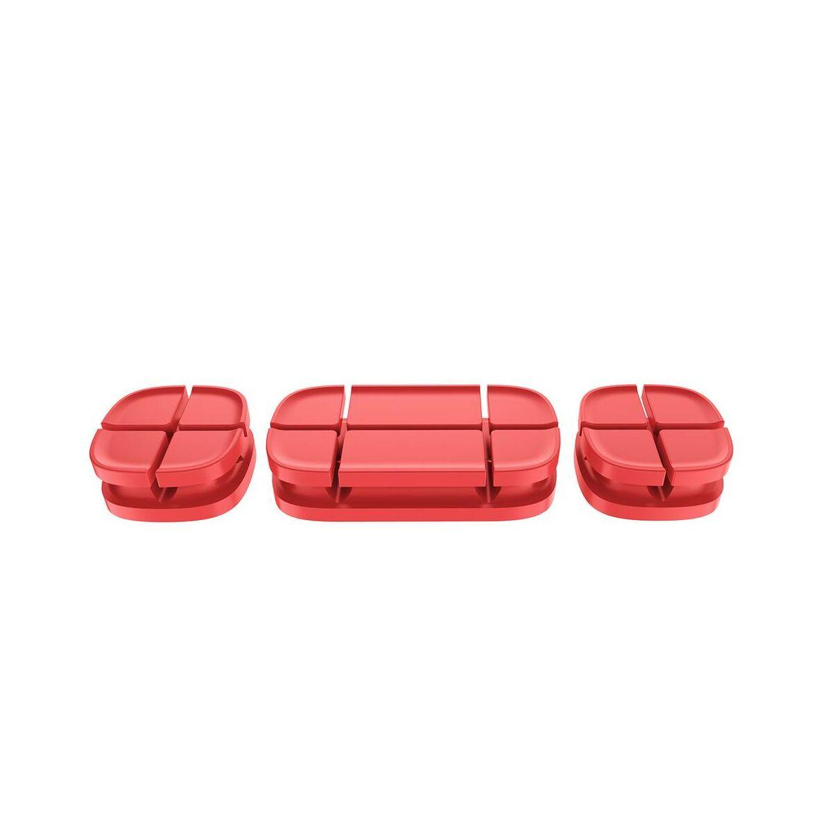 Baseus Cross Peas kábelrendező, piros (ACTDJ-09)