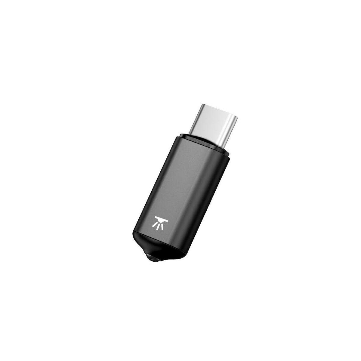 Baseus infravörös kiegészítő távirányítós funkcióhoz Type-C, fekete (ACTR02-01)
