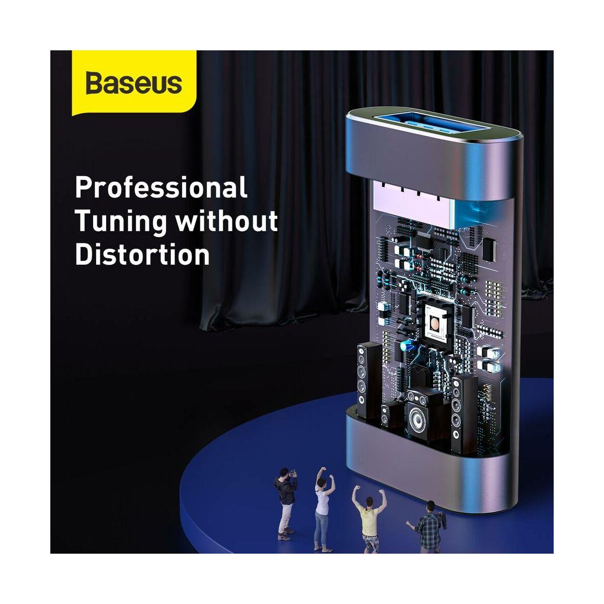 Baseus Audio, Enjoy Flash Drive USB 3.0 töltő funkcióval, alumínium ház, 32GB, fekete (ACUP-B0A)