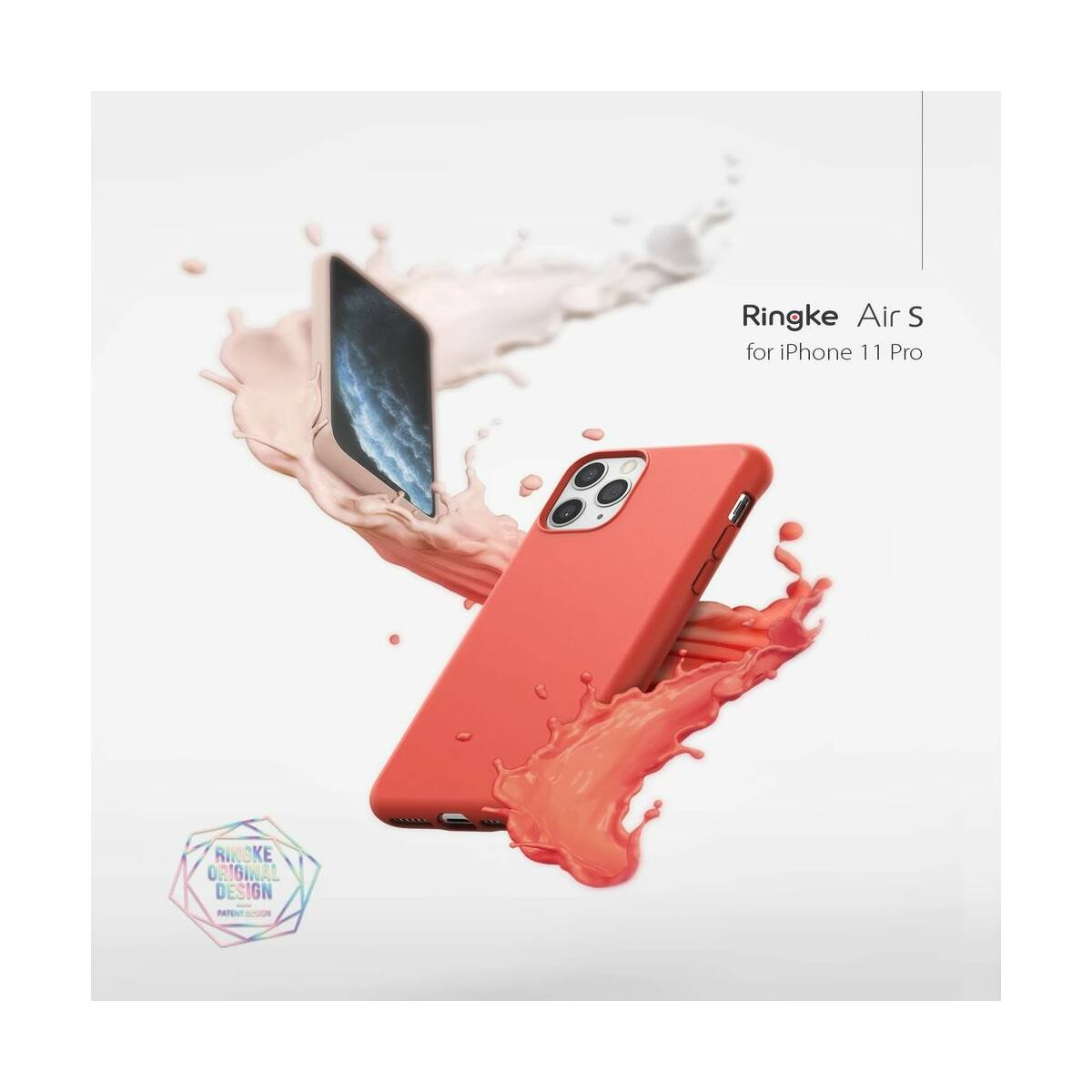 Ringke iPhone 11 tok, Air S, Rószaszín