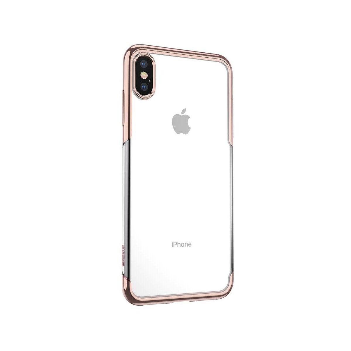 Baseus iPhone XS tok, Shining, arany (ARAPIPH58-MD0V)