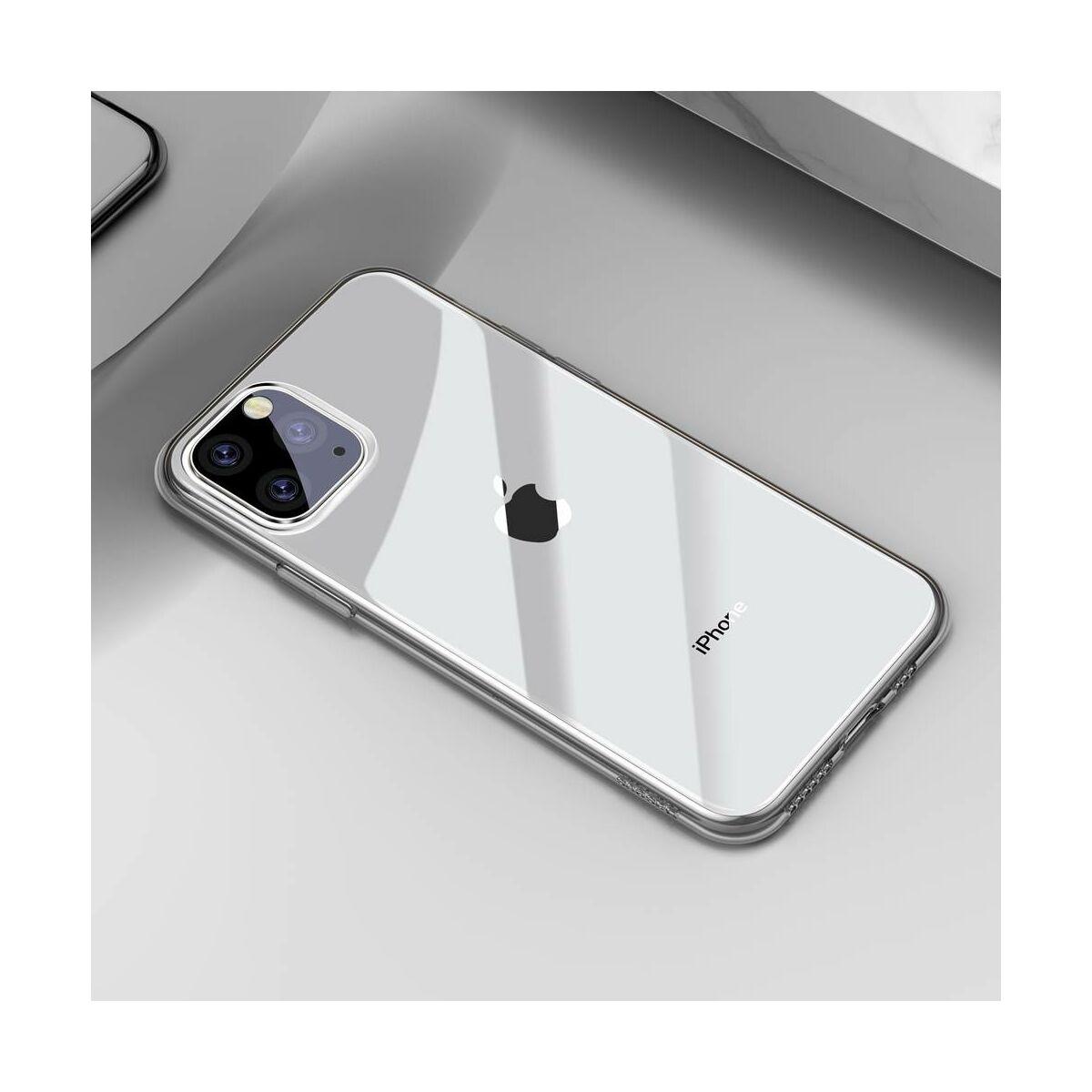 Baseus iPhone 11 Pro tok, Simplicity Series (basic model), átlátszó (ARAPIPH58S-02)
