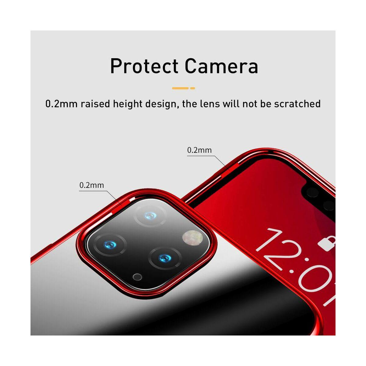 Baseus iPhone 11 Pro tok, Shining, piros (ARAPIPH58S-MD09)