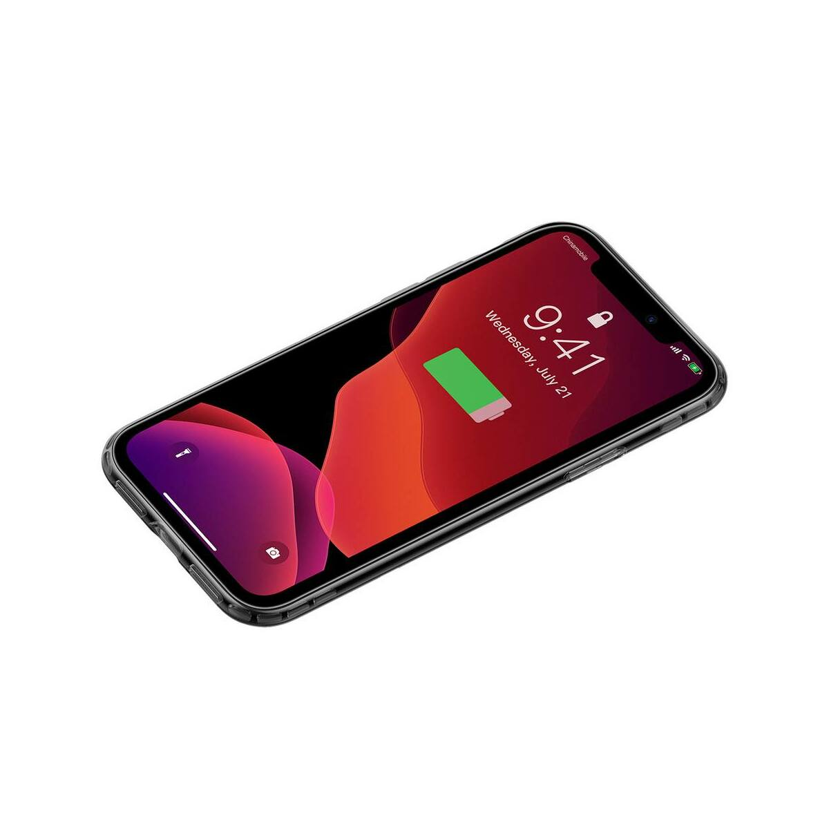 Baseus iPhone 11 Pro tok, Safety Airbags, átlátszó fekete (ARAPIPH58S-SF01)