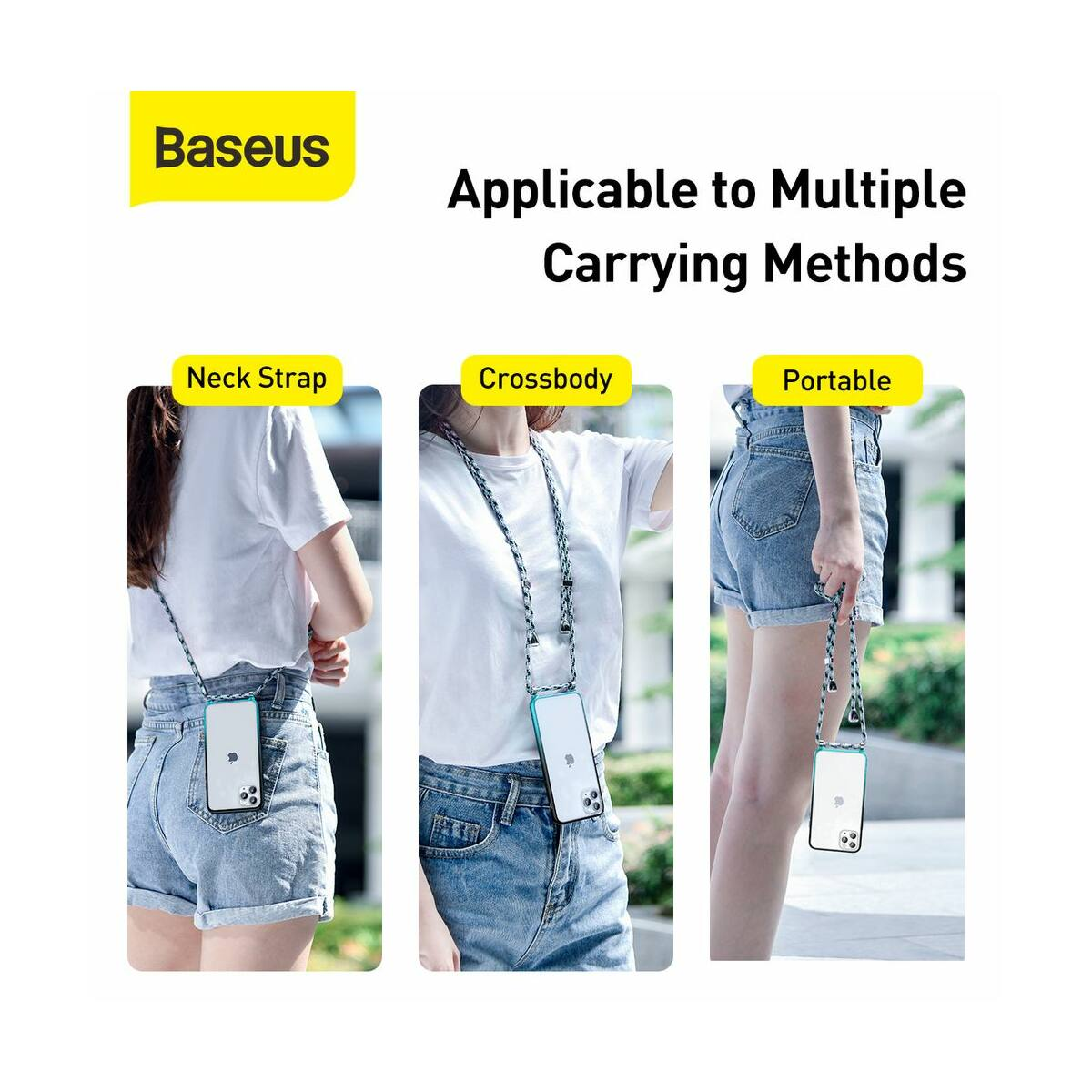 Baseus iPhone 11 Pro tok, Element Crossbody, kék (ARAPIPH58S-YS03)