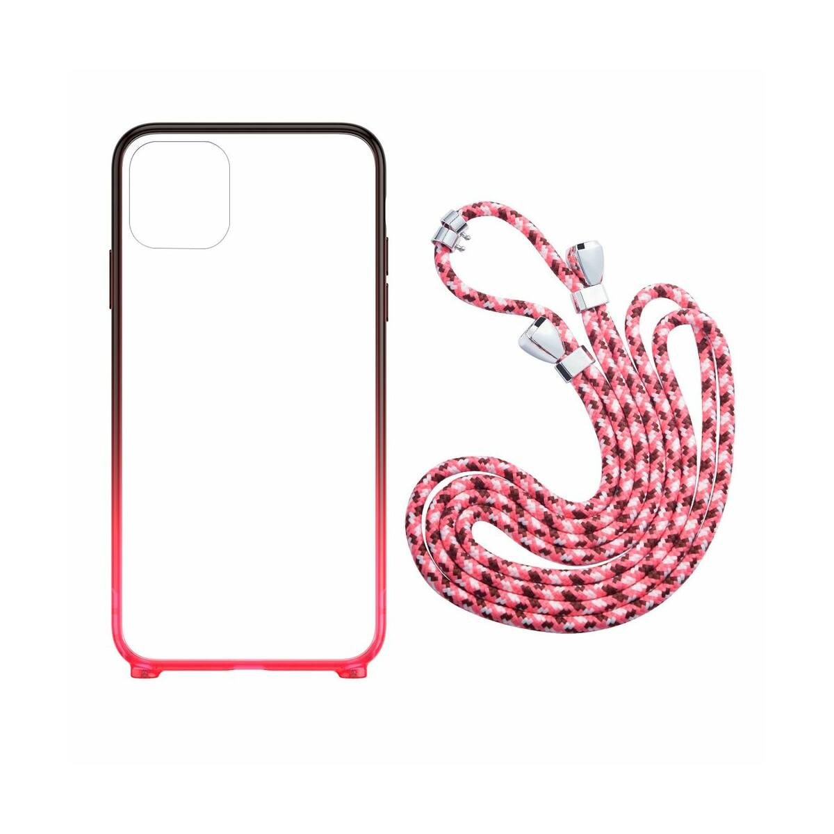 Baseus iPhone 11 Pro tok, Element Crossbody, piros (ARAPIPH58S-YS09)