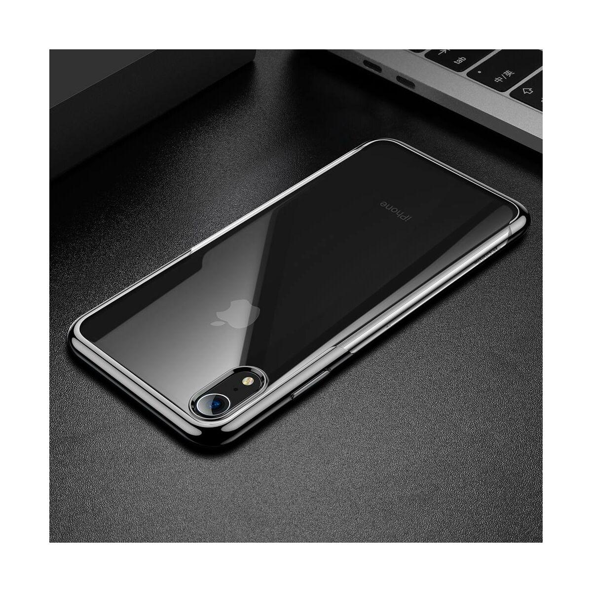 Baseus iPhone XR tok, Shining, fekete (ARAPIPH61-MD01)