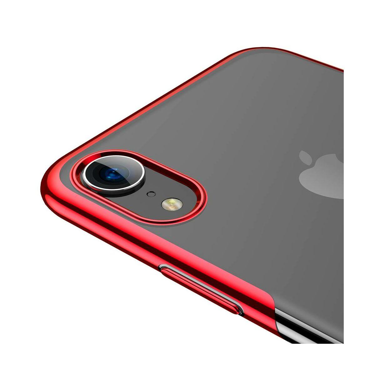 Baseus iPhone XR tok, Shining, piros (ARAPIPH61-MD09)