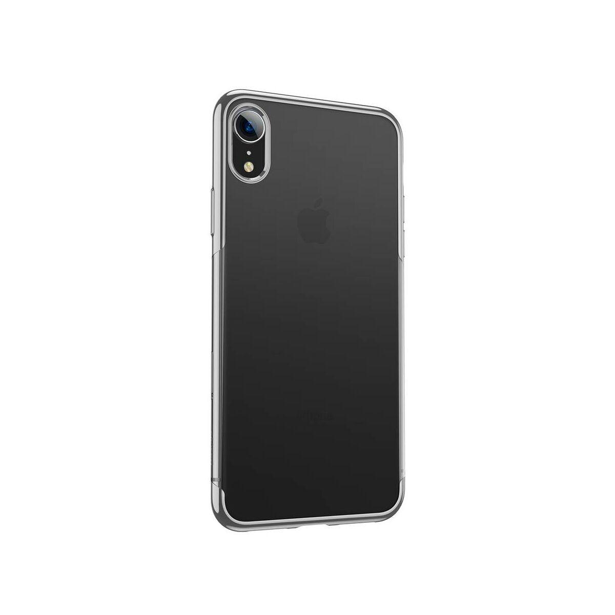 Baseus iPhone XR tok, Shining, ezüst (ARAPIPH61-MD0S)