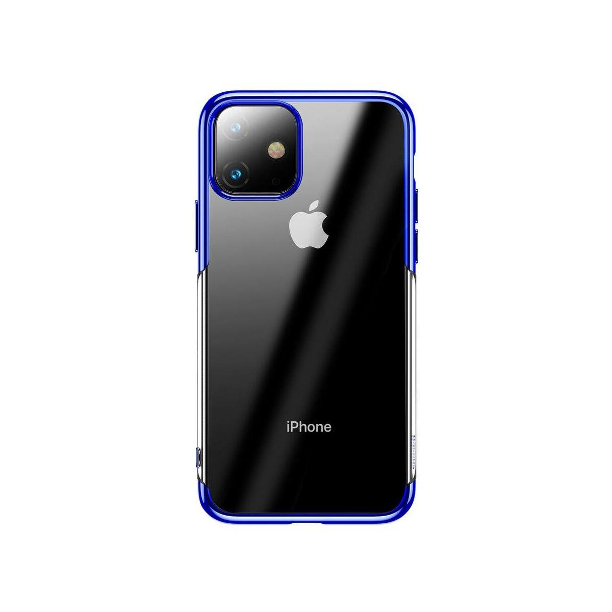 Baseus iPhone 11 tok, Shining, kék (ARAPIPH61S-MD03)