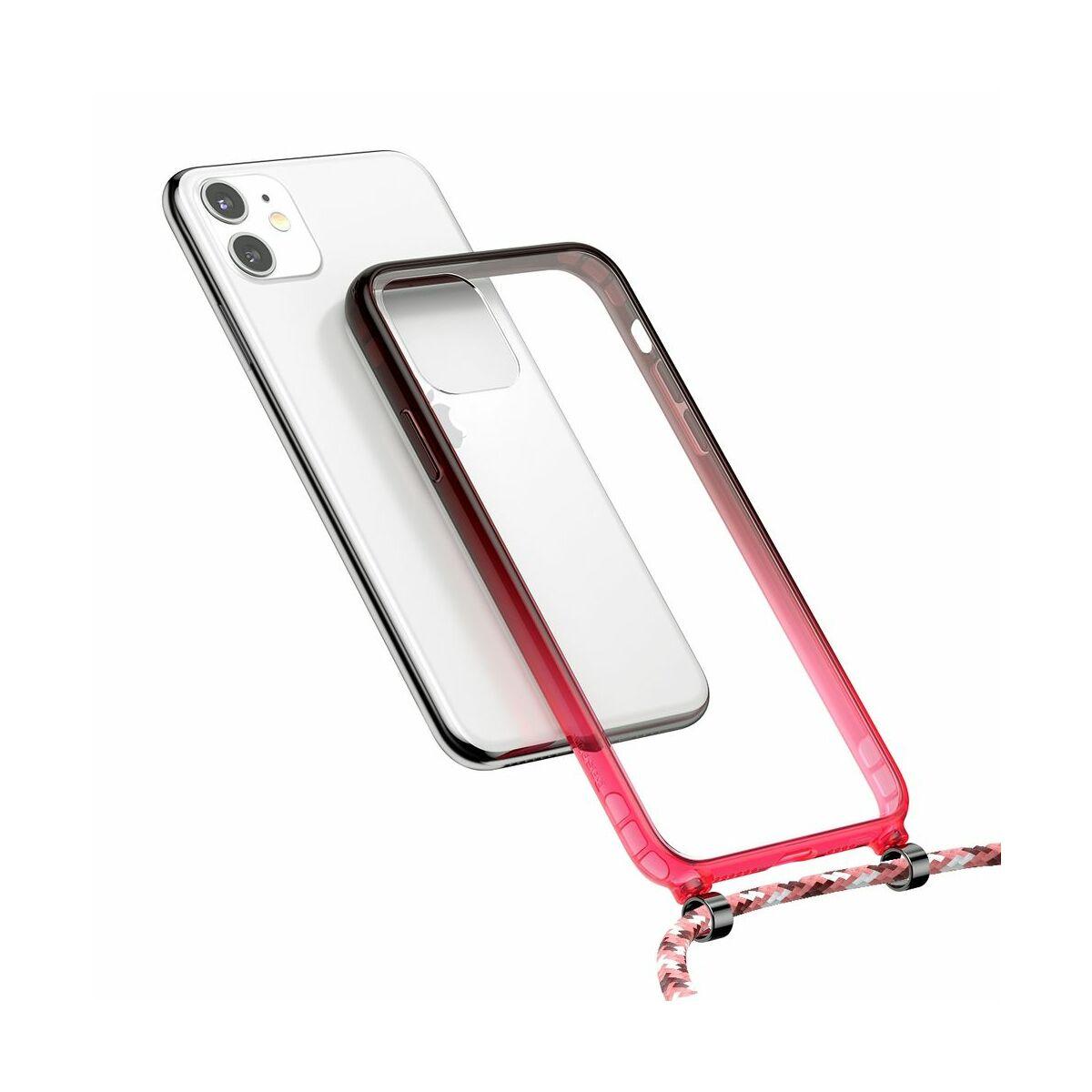 Baseus iPhone 11 tok, Element Crossbody, piros (ARAPIPH61S-YS09)