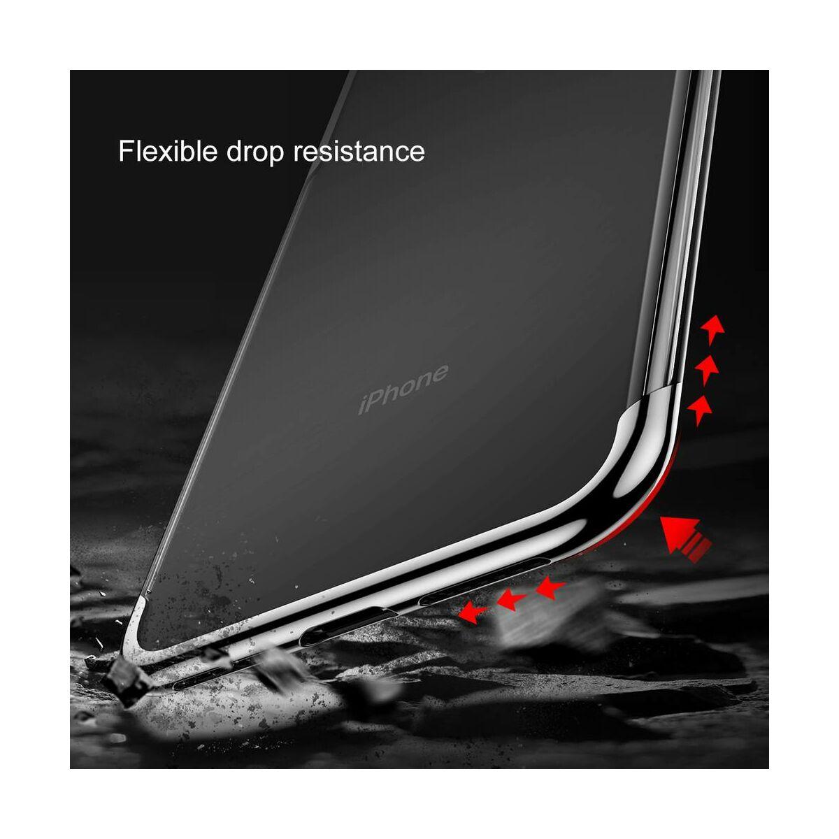 Baseus iPhone XS Max tok, Shining, piros (ARAPIPH65-MD09)