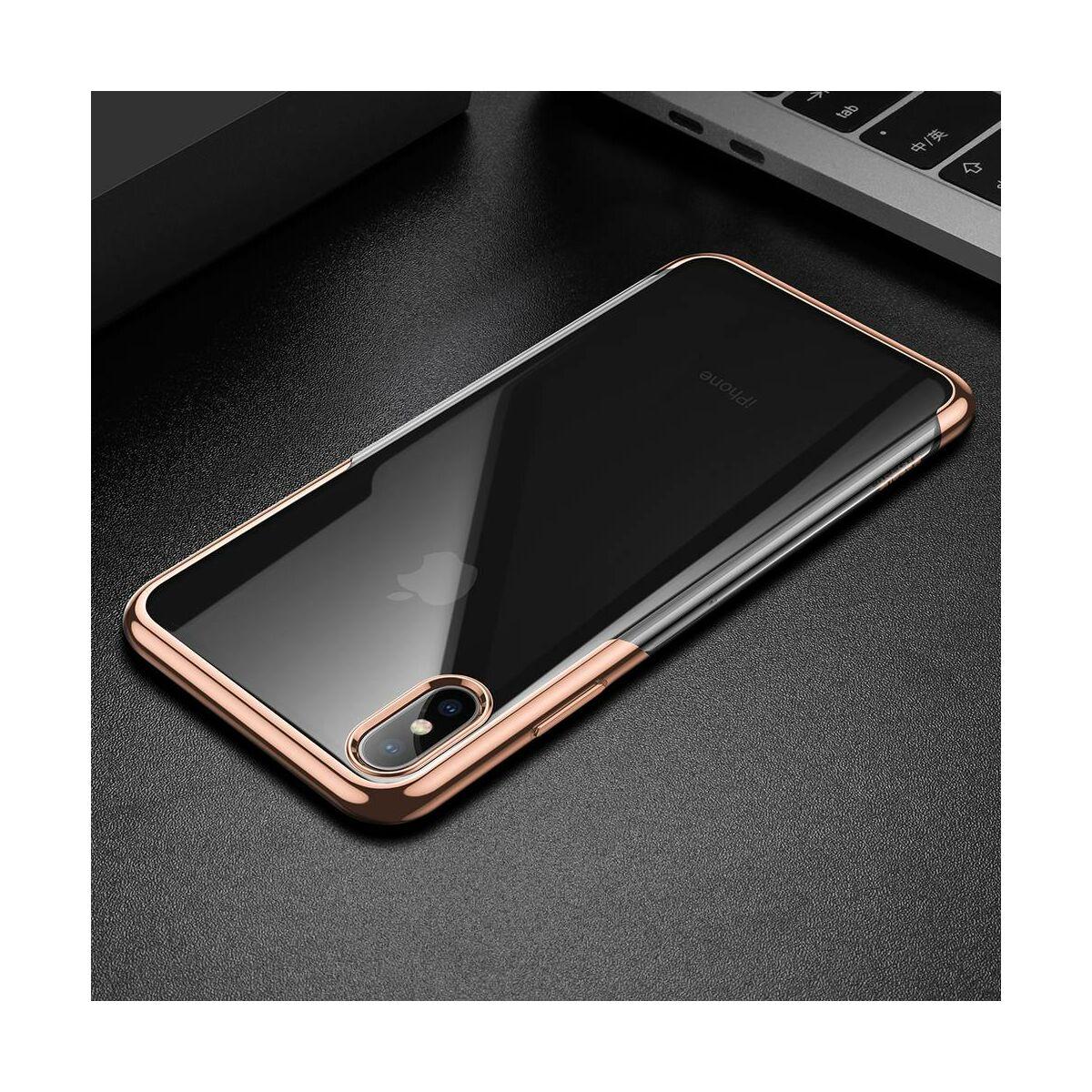 Baseus iPhone XS Max tok, Shining, arany (ARAPIPH65-MD0V)