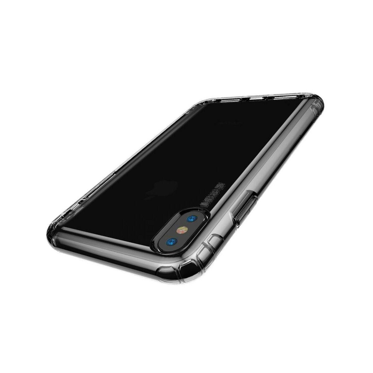 Baseus iPhone XS Max tok, Safety Airbags, átlátszó (ARAPIPH65-SF02)