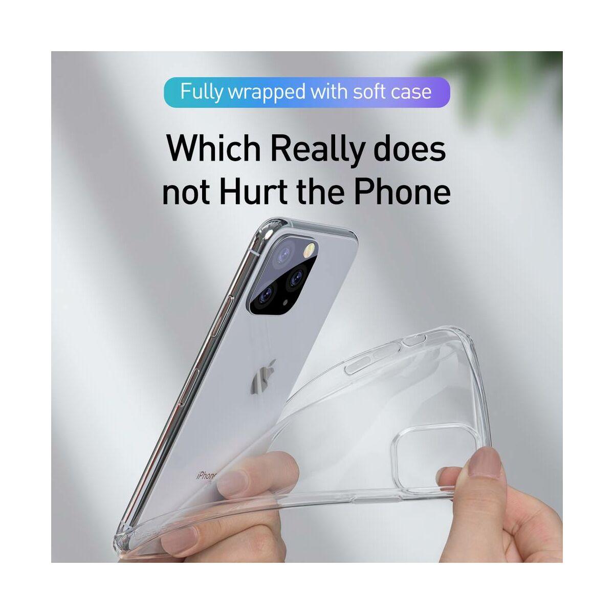 Baseus iPhone 11 Pro Max tok, Simplicity Series (basic model), átlátszó (ARAPIPH65S-02)