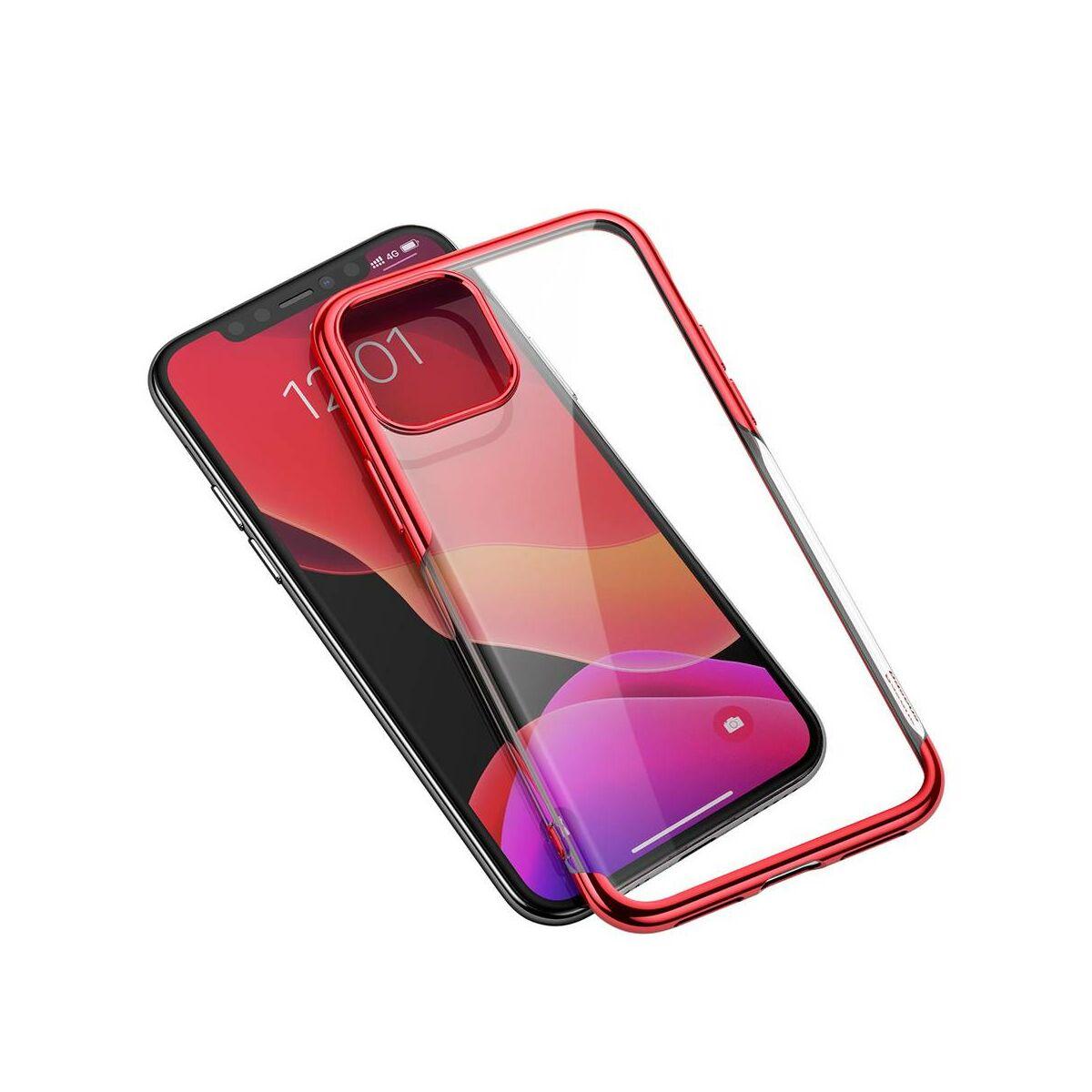 Baseus iPhone 11 Pro Max tok, Shining, piros (ARAPIPH65S-MD09)