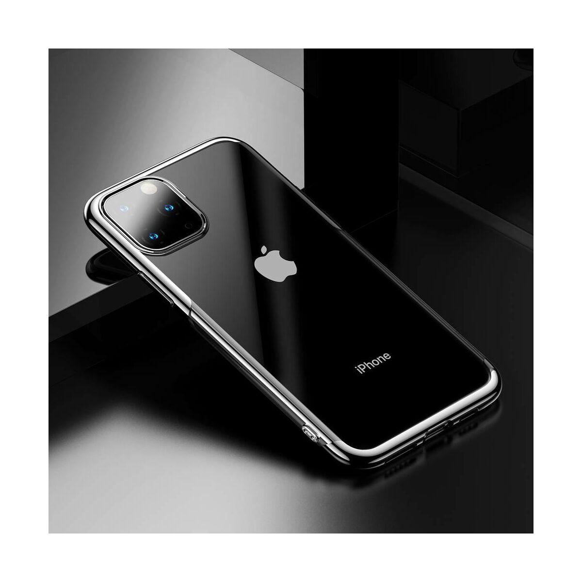 Baseus iPhone 11 Pro Max tok, Shining, ezüst (ARAPIPH65S-MD0S)