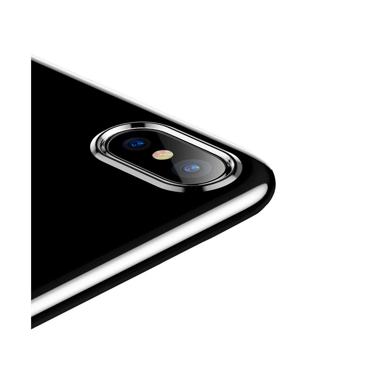 Baseus iPhone X/XS tok, Simple, (TPU), átlátszó (ARAPIPHX-B02)