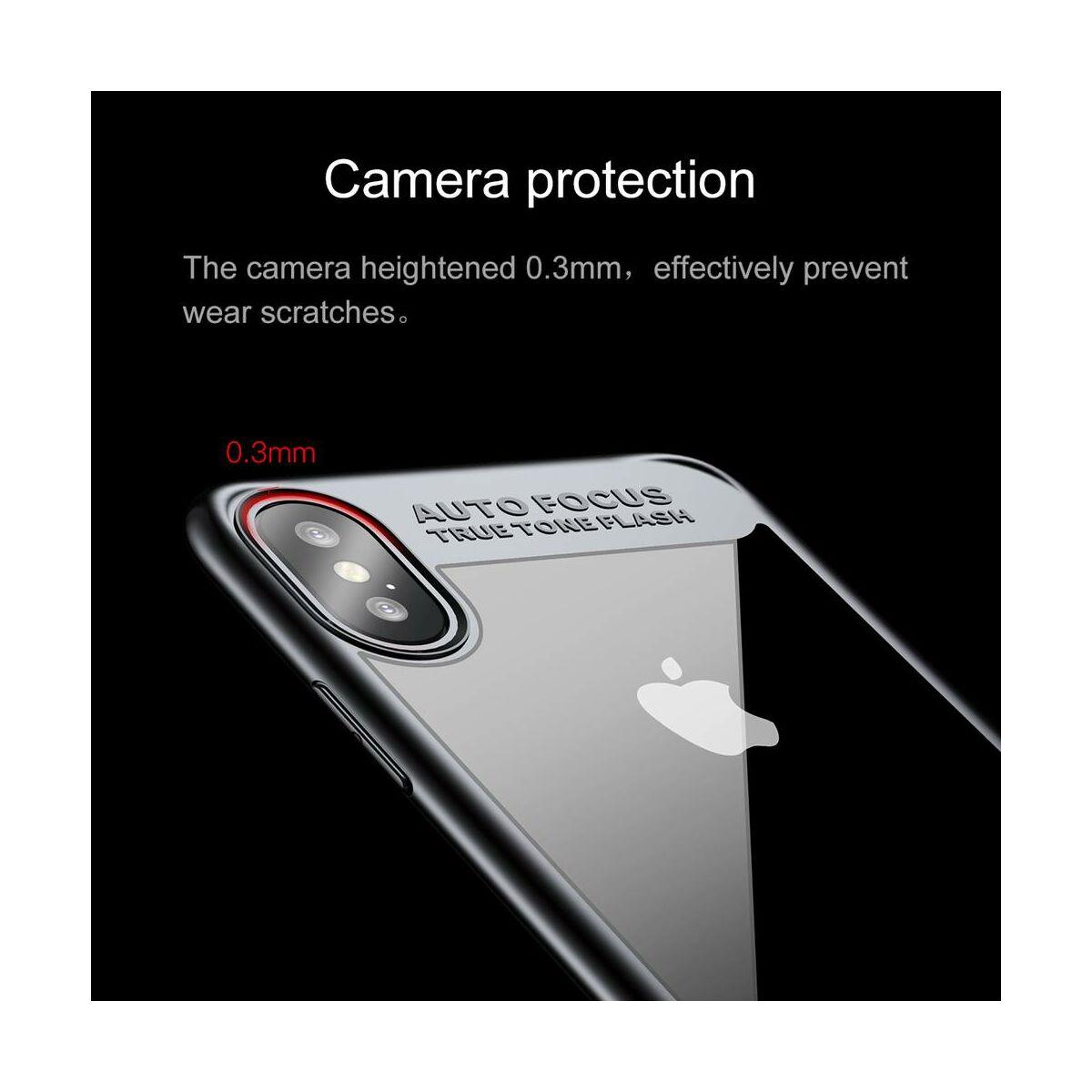 Baseus iPhone X/XS tok, Suthin, Thin, fekete (ARAPIPHX-SB01)