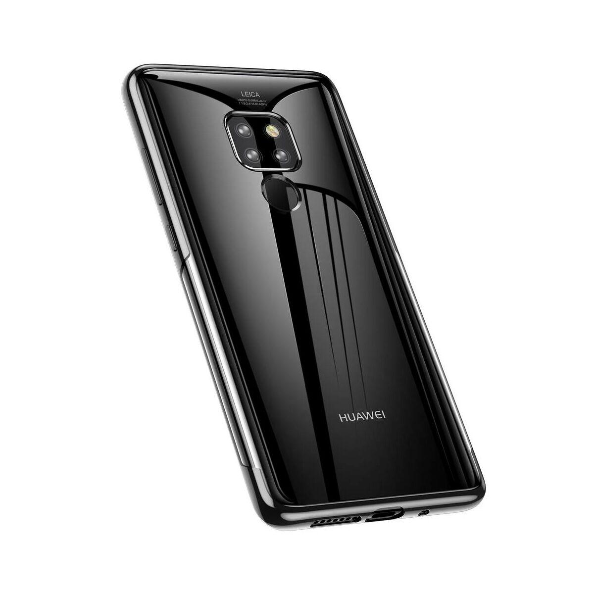 Baseus Huawei Mate 20 tok, Shining, fekete (ARHWMate 20-MD01)