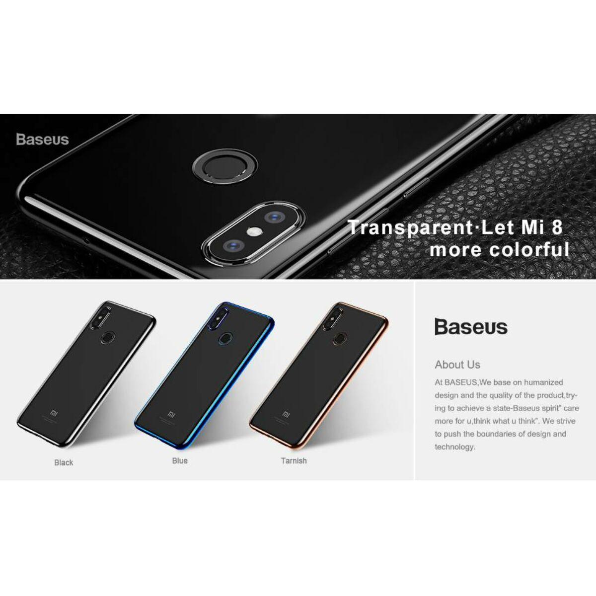 Baseus Xiaomi MI 8 tok, Shining, arany (ARMIM8-MD0V)