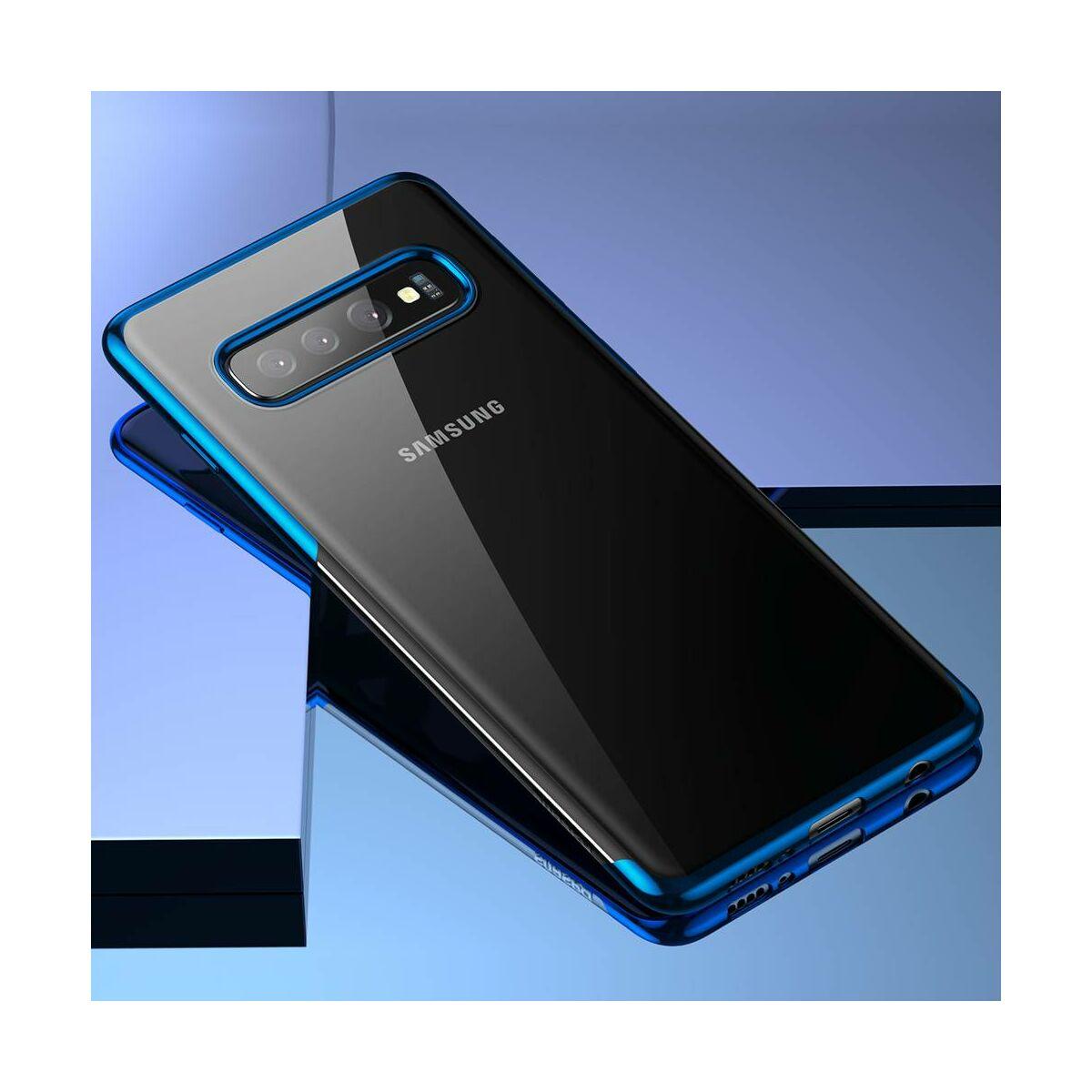 Baseus Samsung S10 Plus tok, Simple, kék (ARSAS10P-MD03)