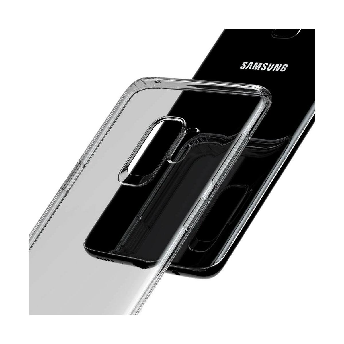 Baseus Samsung Galaxy S9 tok, TPU, fekete (ARSAS9-01)