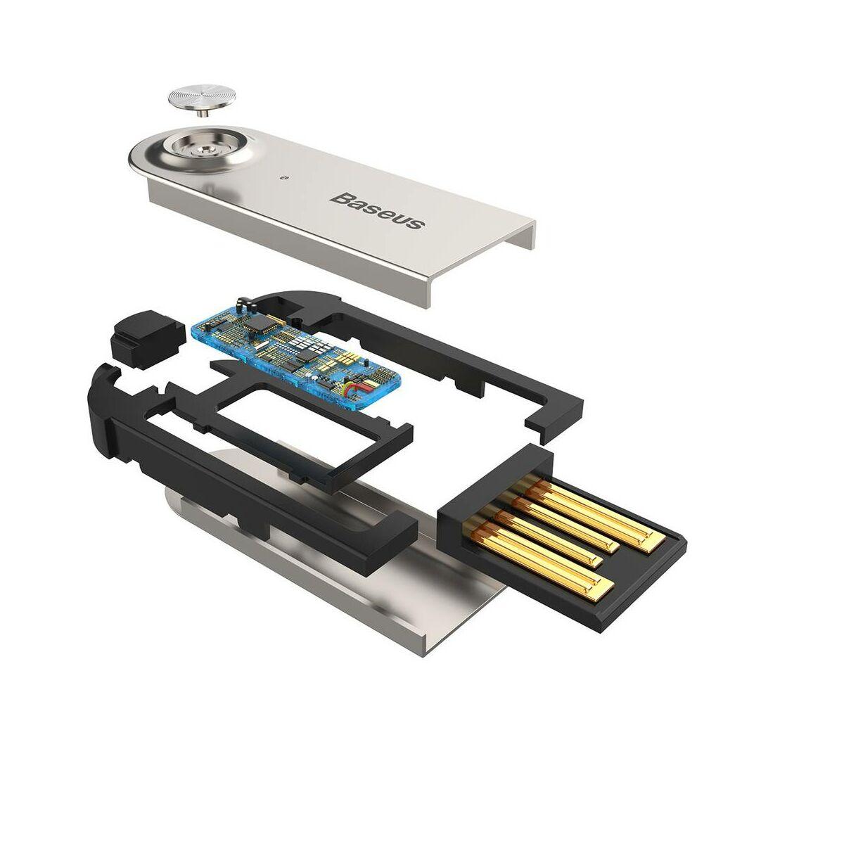 Baseus átalakító kábel, BA01 USB + vezeték nélküli adapterről 3.5mm Jack bemenetre, fekete (CABA01-01)