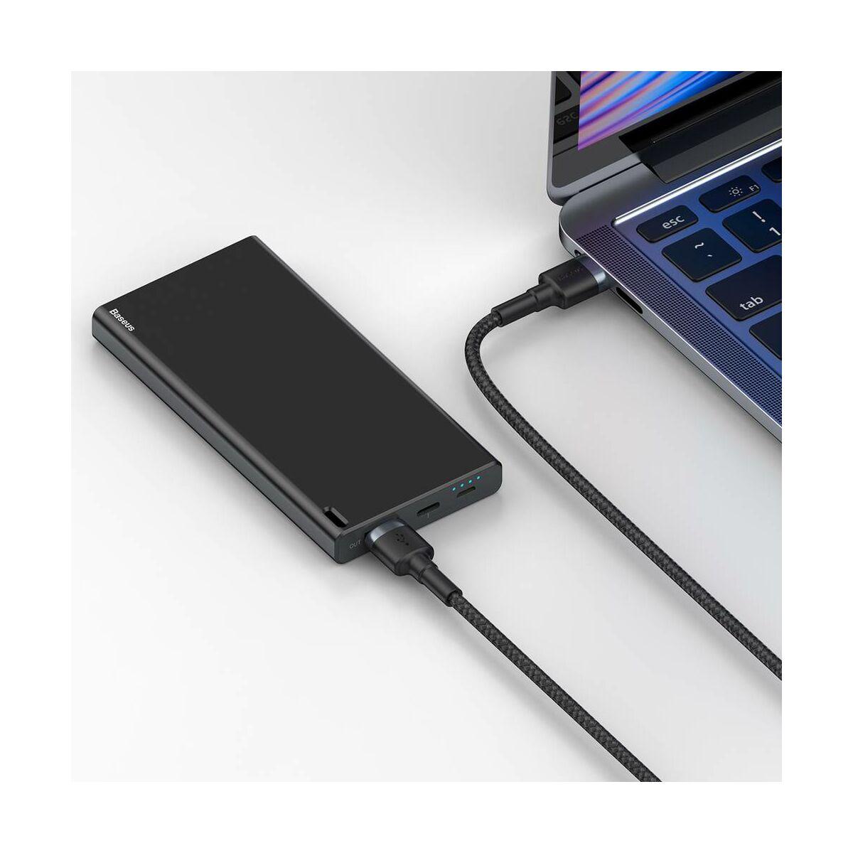 Baseus átalakító kábel, Cafule USB3.0[apa] - USB3.0[apa] 2A, 1m, szürke (CADKLF-C0G)