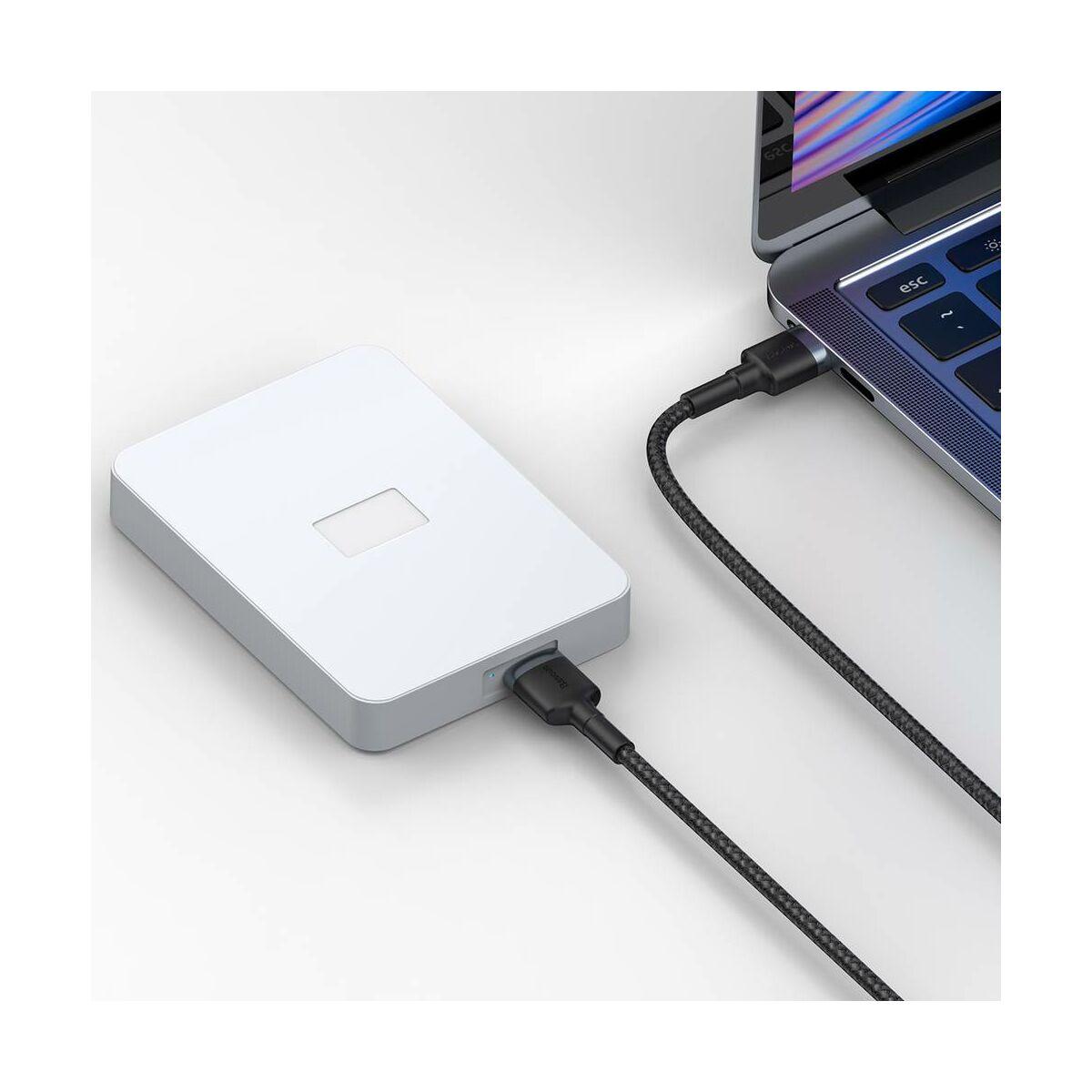 Baseus átalakító kábel, Cafule USB3.0[apa] - Micro-B 2A, 1m, szürke (CADKLF-D0G)